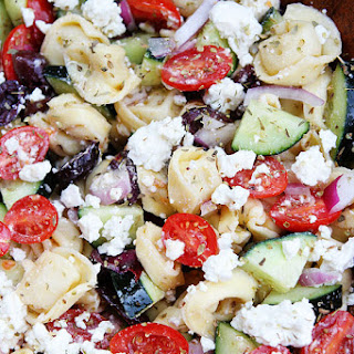 Cheese Tortellini Salad With Peas Recipes