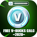 Vbucks 2020 | Free Vbucks and Battle Pass Pro Calc icon