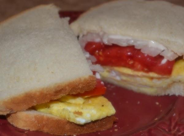 E.t.o. (egg, Tomato And Onion) Sandwiches Recipe