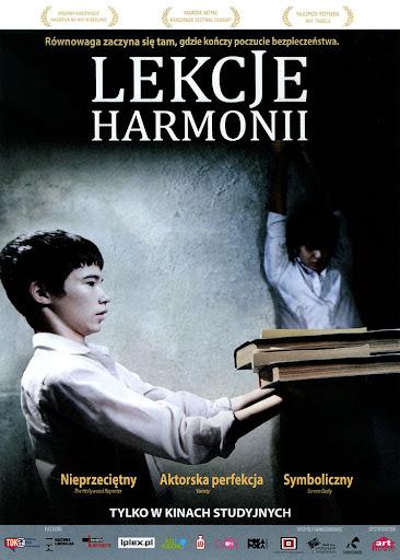 Przód ulotki filmu 'Lekcje Harmonii'