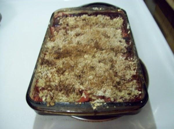 Diane's Triple Berry Crisp Recipe