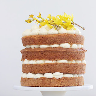 Mexican Vanilla Buttermilk Cake with Earl Grey Ganache Buttercream