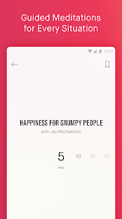 10% Happier: Meditation for Fidgety Skeptics Screenshot