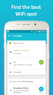Instabridge - Free WiFi Screenshot 2