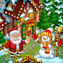 Farm Snow: Happy Christmas Story With Toys & Santa icon