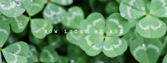Field of Clover - St. Patrick's Day Template