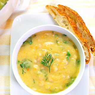 White Bean, Dill, and Vegetable Soup Recipe