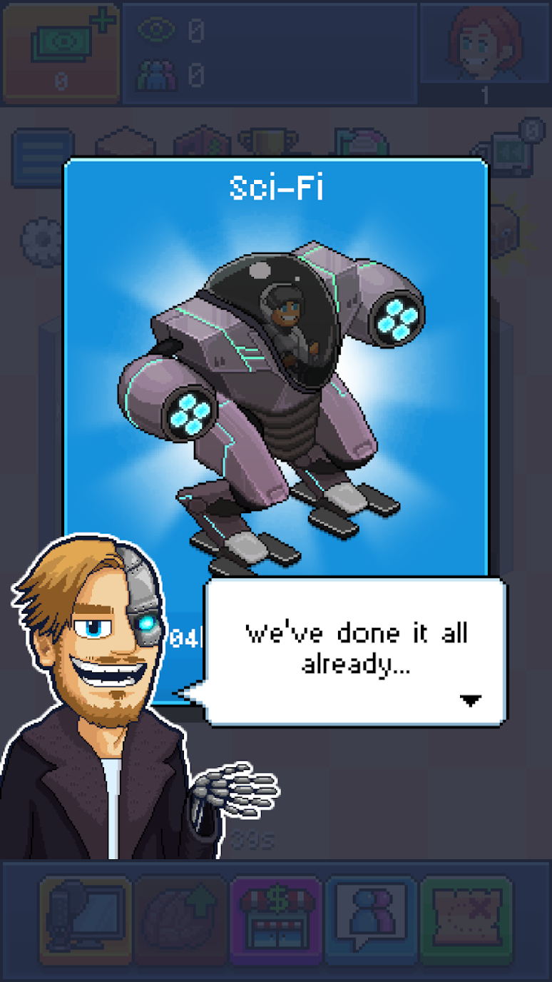 Pewdiepie's Tuber Simulator Mod Apk (Unlimited Money) 1