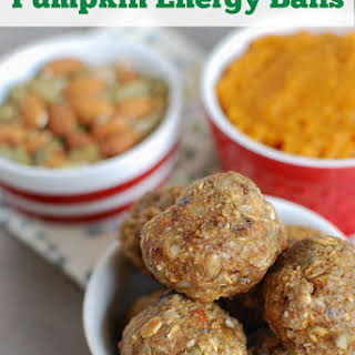 Pumpkin Energy Balls.