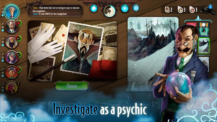 Mysterium: A Psychic Clue Game Android App Screenshot