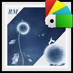 Moon Flower - theme Xperia™ Icon
