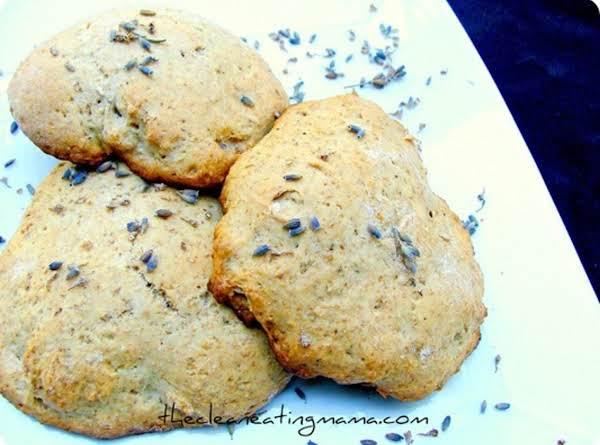 Vegan Lavender Scones