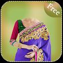 Woman Saree Photo Suit icon