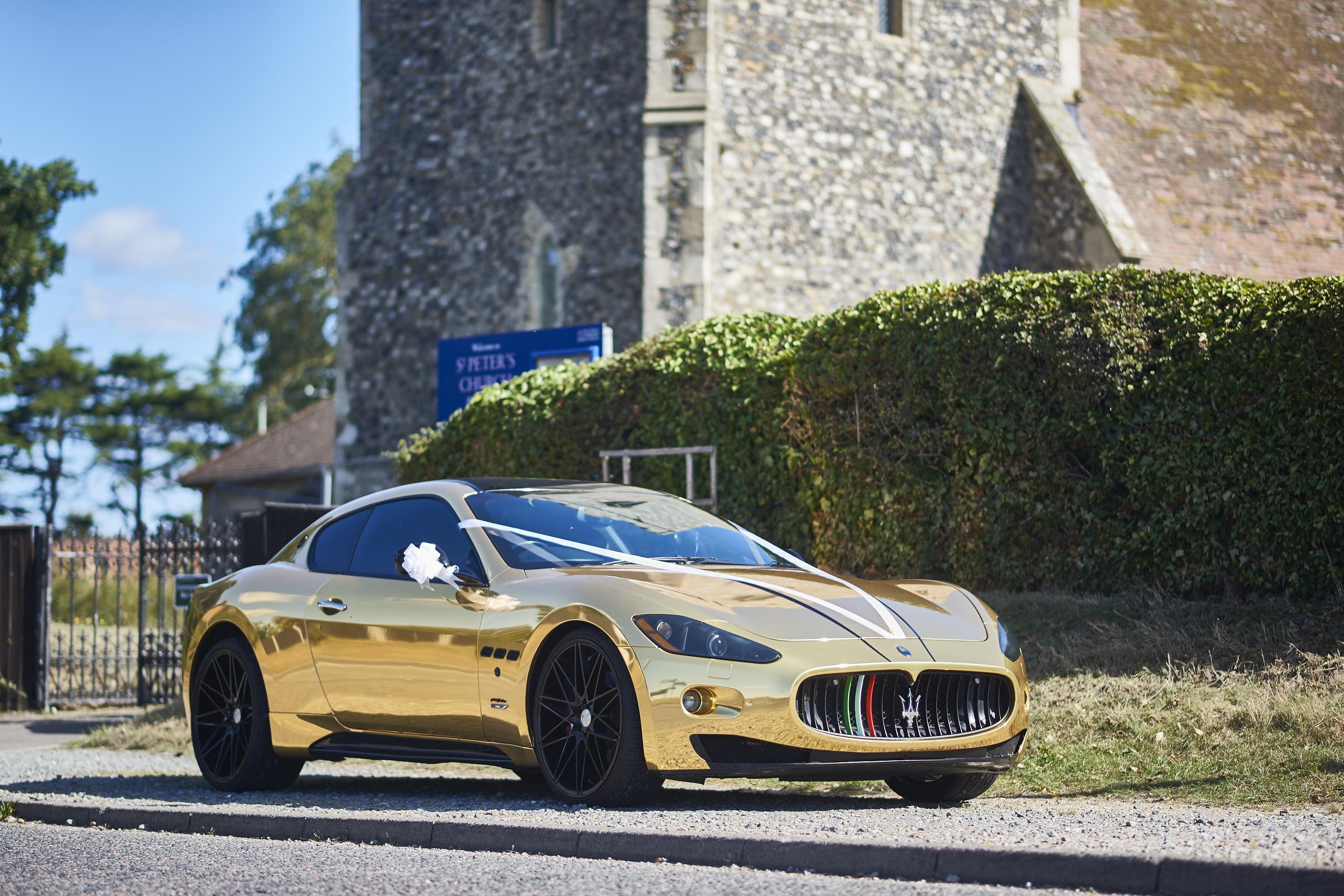 Maserati Granturismo S Hire Lowestoft
