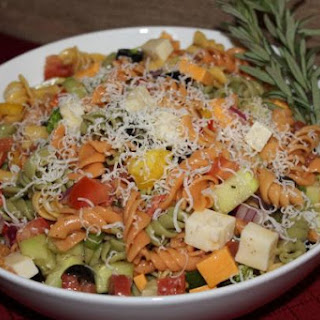 Colorful Party Pasta Salad