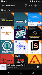 Podcast Addict - Donate Screenshot