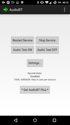 AudioBT: BT audio GPS/SMS/Text screenshot 1