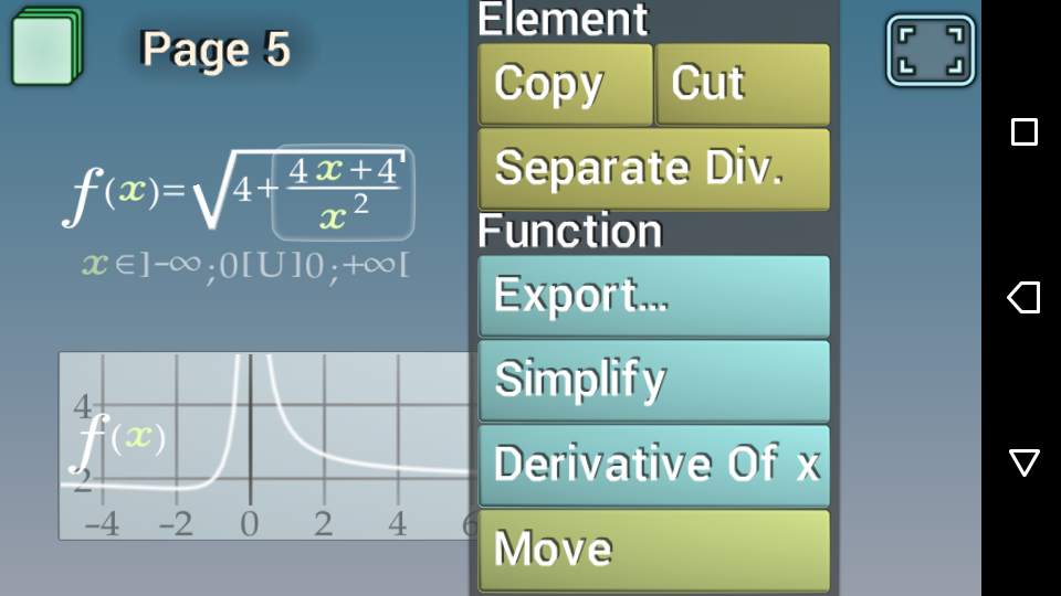 Math Touch Book- screenshot
