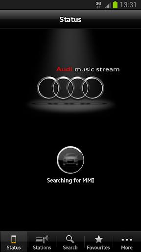 Audi Music Stream screenshot 1