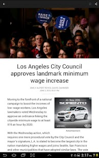 LA Times: Your California News- screenshot thumbnail