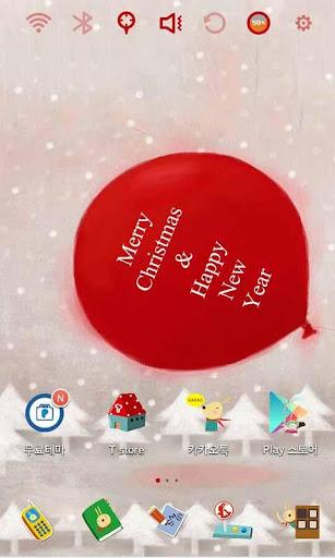 Christmas Gift Launcher Theme