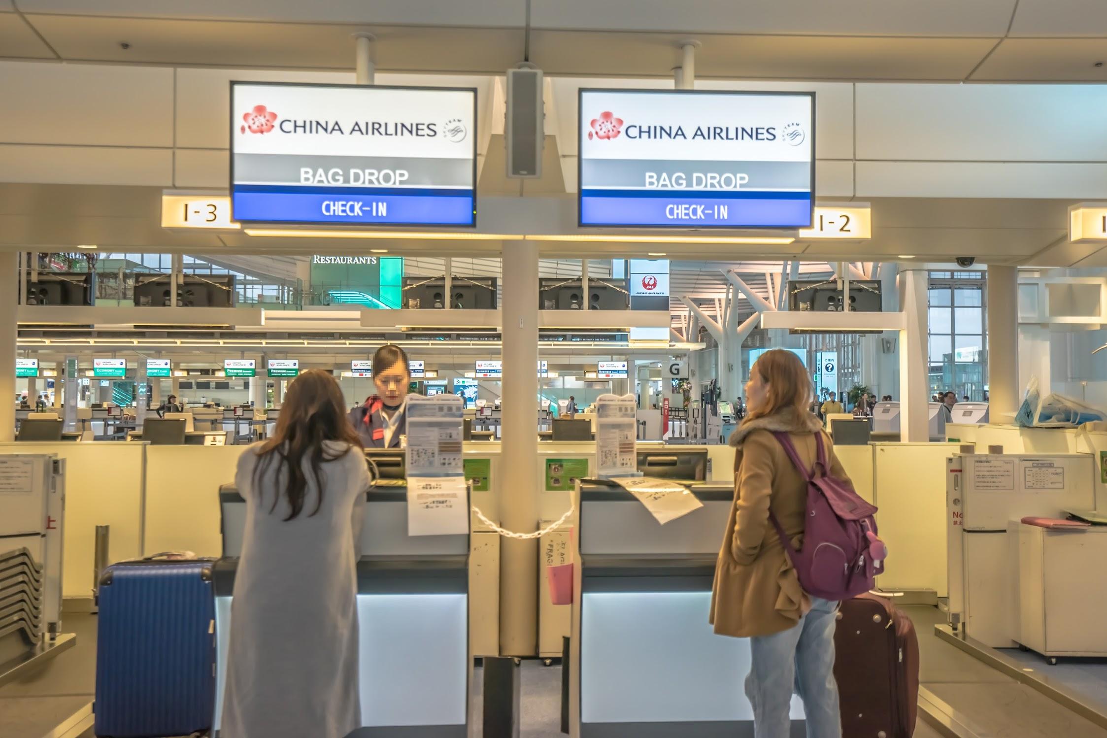 羽田空港 チャイナエアライン