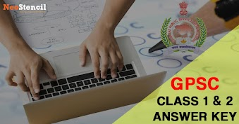 Download GPSC Class 1 & 2 Answer Key 2020 & Cut Off