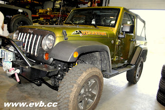 """Photo: Jeep Mountian with stock tires and an 2"""" Old Man Emu lift"""