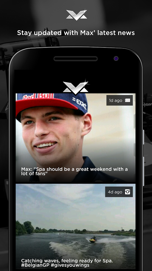 Max Verstappen Official App- screenshot
