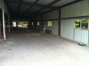 Photo: Breezeway at HFR, picnic tables in background