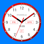 Color Analog Clock-7