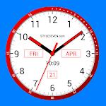 Color Analog Clock-7 Icon