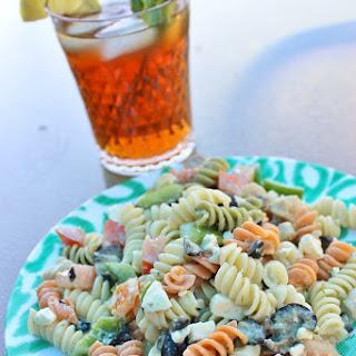 Sweet Tea Pasta Salad