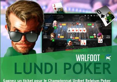 Le lundi, c'est le poker : remportez un package d'une valeur de 2.000€ !