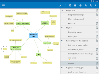 SimpleMind Free - Intuitive Mind Mapping Screenshot