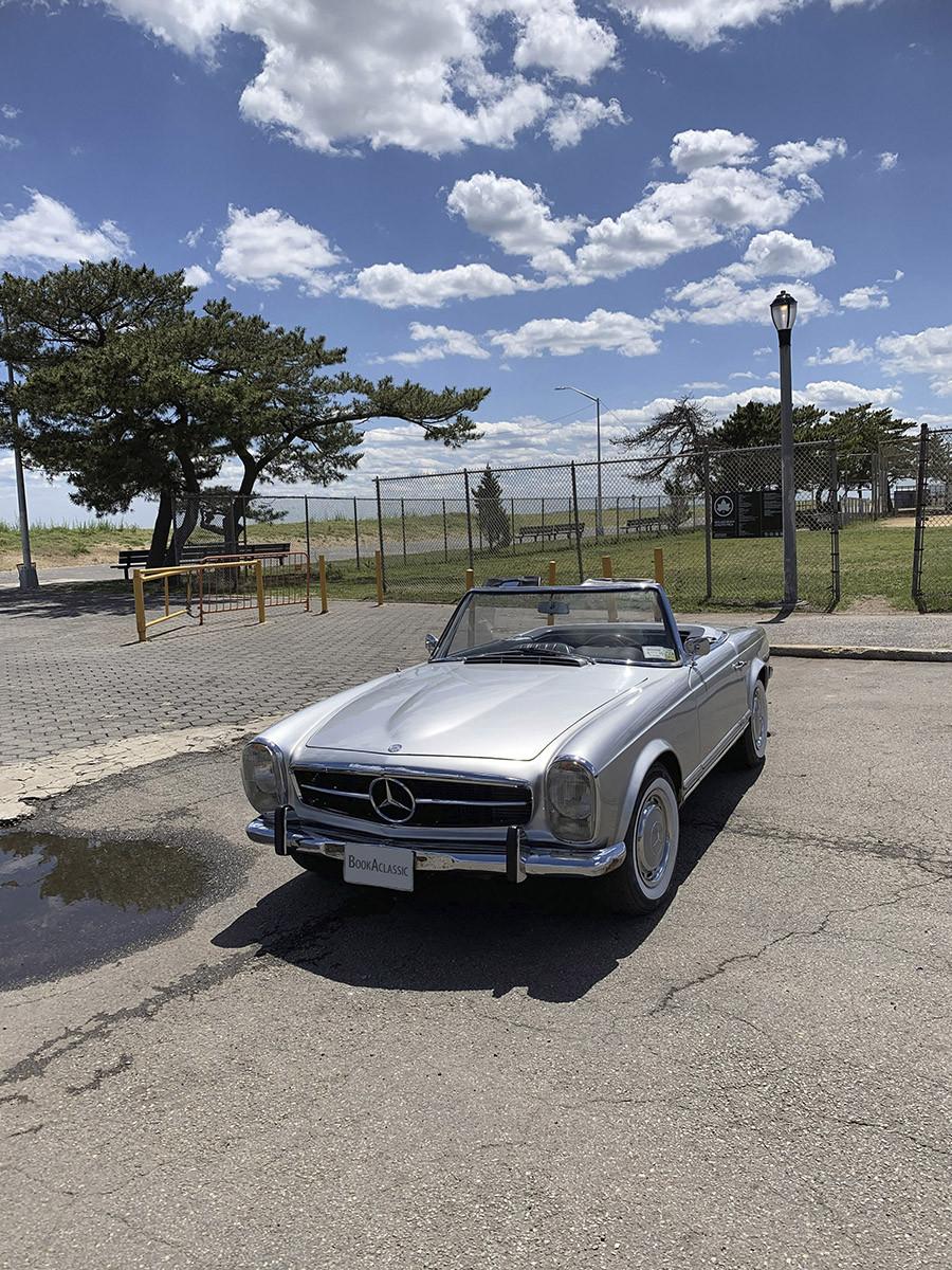 Mercedes-benz 230sl Pagoda Hire Staten Island