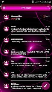 PinkSphere SMS Zprávy - náhled