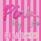 Pink My Life Go Launcher