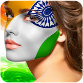 Indian Face Flag Photo