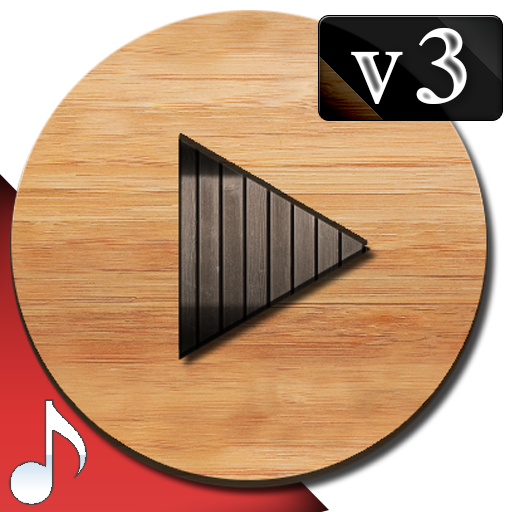 Poweramp v3 skin wood 3 skin wood1 (Paid) APK for Android