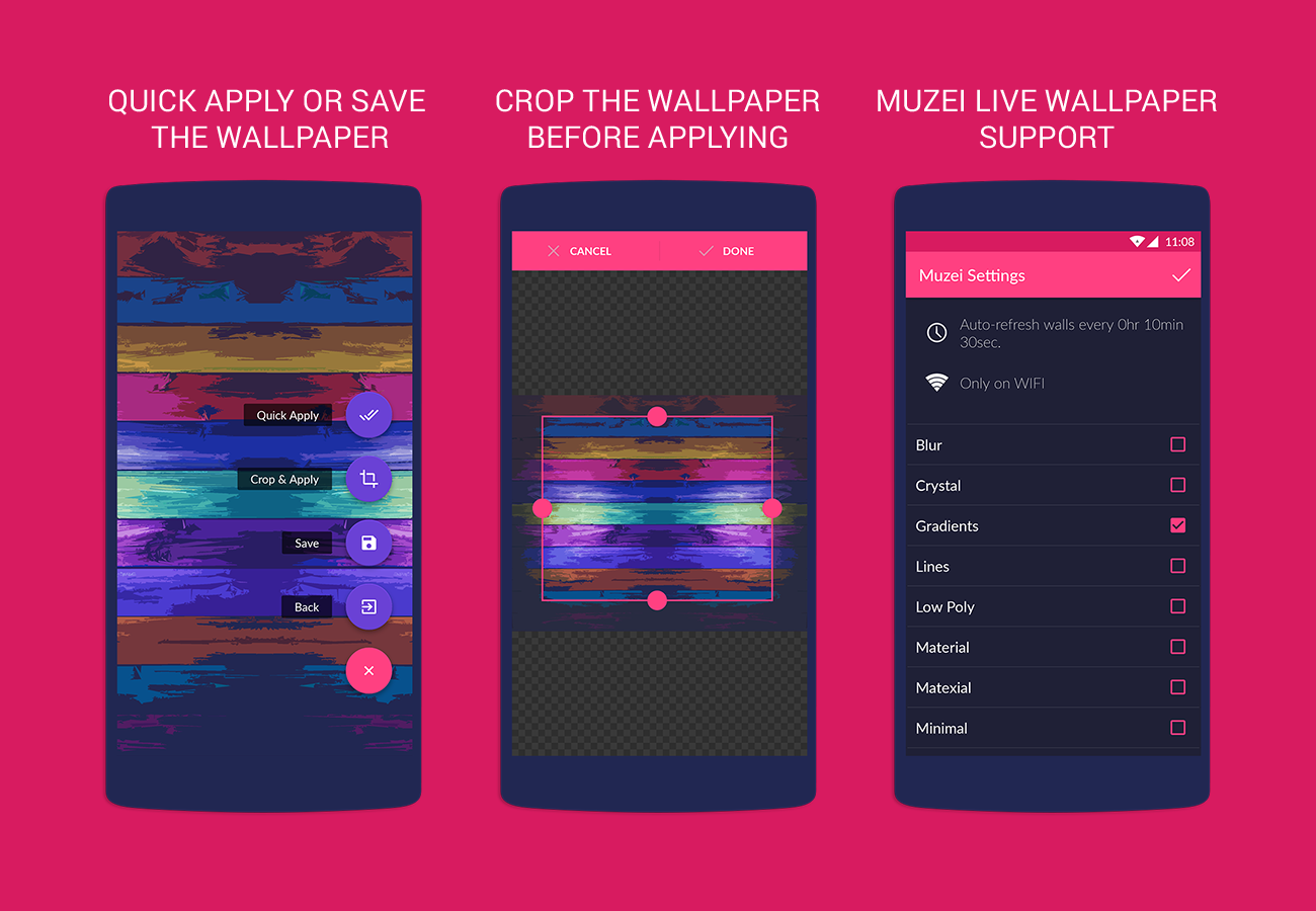 Wallpaper downloader app for android - Wallrox Wallpapers Screenshot