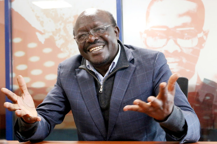 UNCTAD secretary general Mukhisa Kituyi during an interview with the Star at Lion Place, Westlands, Nairobi, on September 10, 2020.