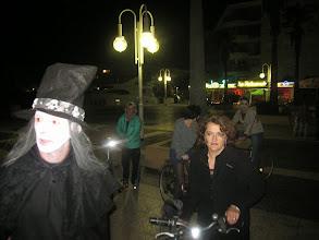 """Photo: Les vélos fermaient la """"marche""""."""