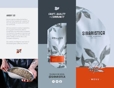 Sibaristica - Brochure template
