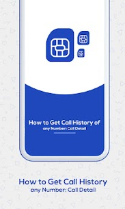 How to Get Call History of Others : Call Detail 1