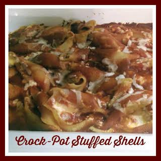 Crock-Pot 4 Cheese Stuffed Shells #Recipe And #Crockstars Contest Info.