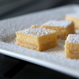 Meyer Lemon Bars.
