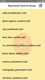Rajinikanth Tamil Super Hit Songs - náhled