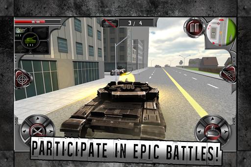Urban Tank: City Battle