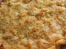 Brown Sugar Peach Pie W/ Coconut Streusel Recipe